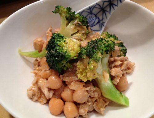 【Food Sense No.4】豚肉とひよこ豆のココナッツミルク炒め煮