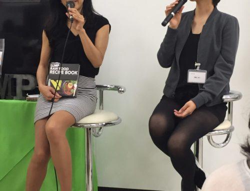 イケセイキレイフェスタ:LLMP代表である伊藤さんとのトークショーを行いました!